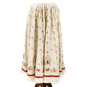 Sweet by Miss Me Skirt Ivory