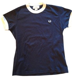 Fred Perry T Shirt Navy