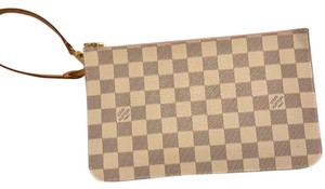 Louis Vuitton Wristlet in white
