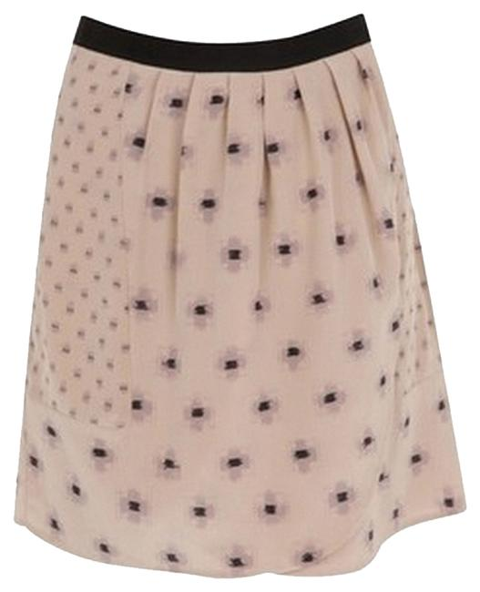 Joie Skirt Nude, pink and black