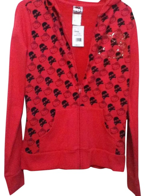 Item - Hot Pink Hello Kitty Light Weight Jacket Size 12 (L)