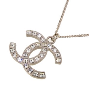 Chanel Chanel Coco Mark Ladies Necklace B12A Metal DH57112