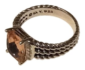 David Yurman david yurman wheaten Pettit morganite ring