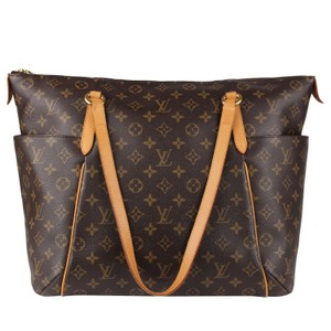 Louis Vuitton Totally Monogram Canvas Vintage Tote in Brown