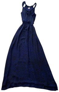 Blue and Black Maxi Dress by Parker