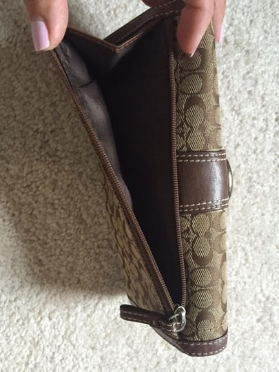 Coach Coach Large Wallet w/ Checkbook