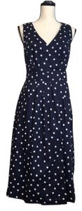 Boden short dress Blue Polka Dot Wrap on Tradesy