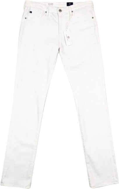 Item - White Light Wash Harper Essential Skinny Jeans Size 30 (6, M)