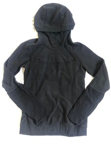 Lululemon Smocked Sleeve Fleece Hooded Pullover