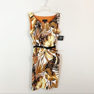connected apparel Sheath Floral Dress