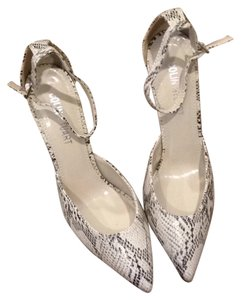 Colin Stuart white/silver Sandals