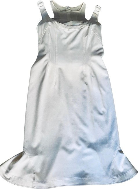 Item - White Spring Mid-length Night Out Dress Size 12 (L)