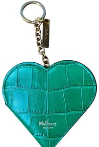 Mulberry Mulberry heart portrait key ring