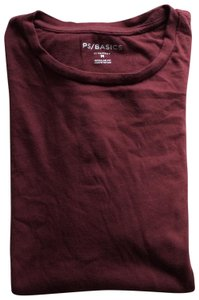 PacSun T Shirt Maroon Red
