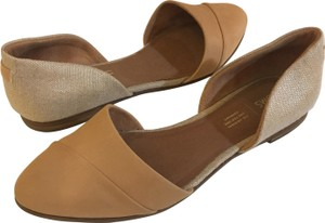 TOMS Two-tone Honey/Rose Gold Metallic Flats