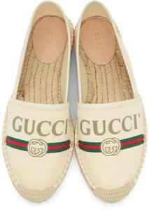 Gucci Sneakers Espadrilles off white Flats