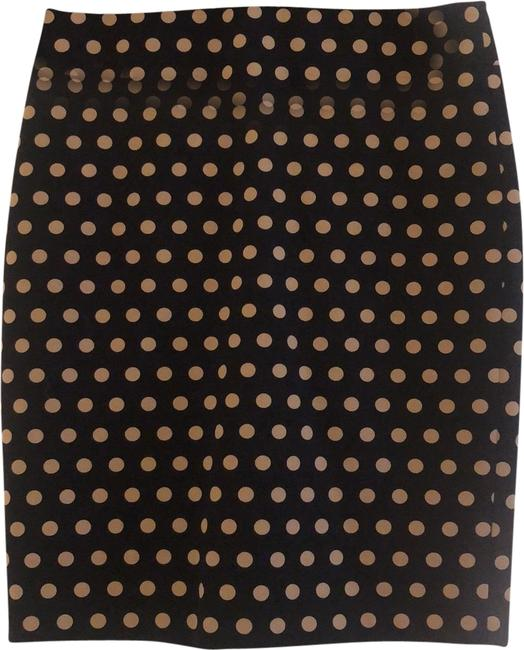 Item - Navy Polka Dot Pencil Skirt Size Petite 4 (S)