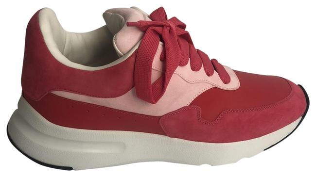 Item - Red & Pink Larry Sneakers Size US 10 Regular (M, B)