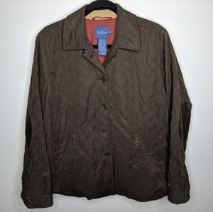 Faconnable Quilted Brownjacket Fall Brown Jacket