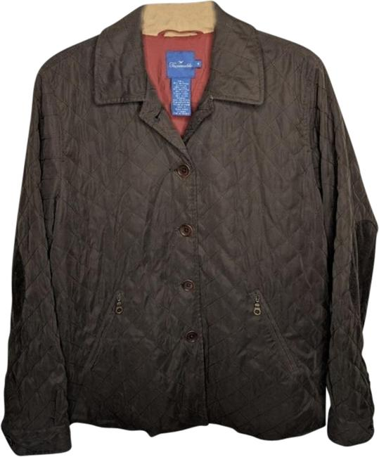 Item - Brown Quilted Cordurouy Elbow Patches M Jacket Size 8 (M)
