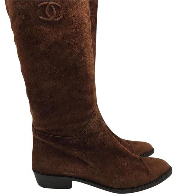 Item - Brown Suede Boots/Booties Size US 8 Regular (M, B)