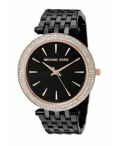 Michael Kors Darci Stainless Steel Rose Gold Glitz Mk3407