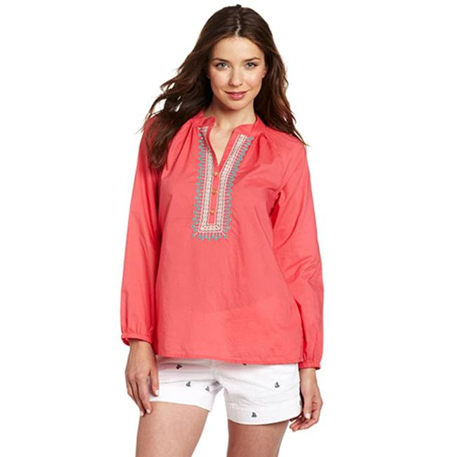 Item - Pink Elsa Embroidered Blouse Size 10 (M)