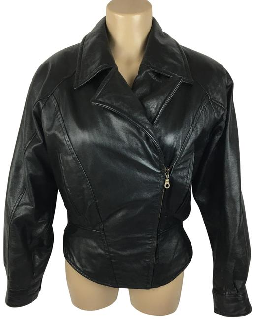 Item - Black Moto Jacket Size 6 (S)