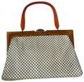 Whiting & Davis Mesh Handbag Lucite Handle Satchel Whiting & Davis Mesh Handbag Lucite Handle Satchel Image 1