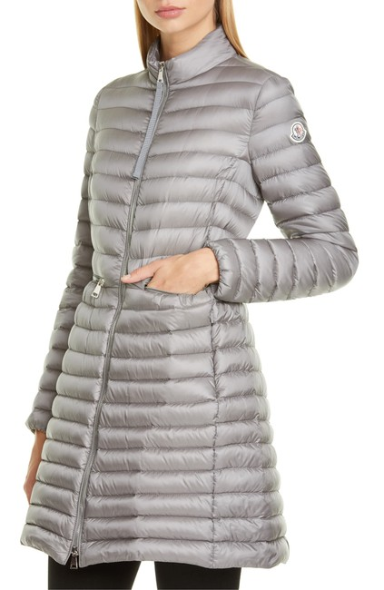 Item - Charcoal Agatelon Lightweight Down Quilted Coat Size 00 (XXS)