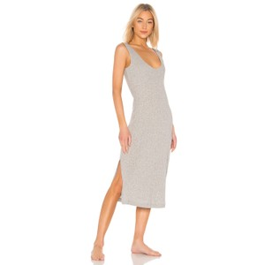 Heather Grey Maxi Dress by Skin