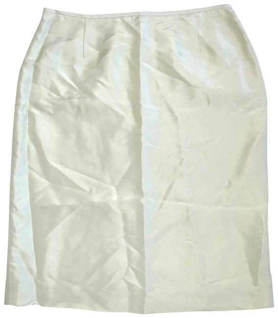 Item - Light Green Silk Skirt Size 8 (M, 29, 30)