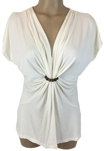 Chaus Top Ivory