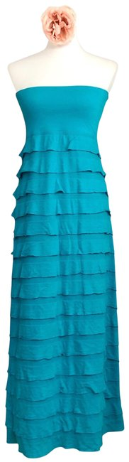 Item - Turquoise Casual Maxi Dress Size 12 (L)