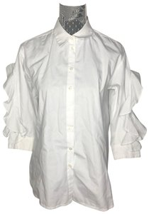 Casting Button Down Shirt White