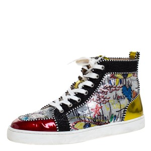 Christian Louboutin Sequin Leather Multicolor Athletic