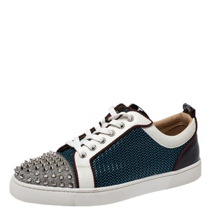 Christian Louboutin Leather Spike Multicolor Athletic