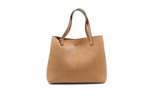 Street Level Leather Everyday Work Luggage Satchel in Brown