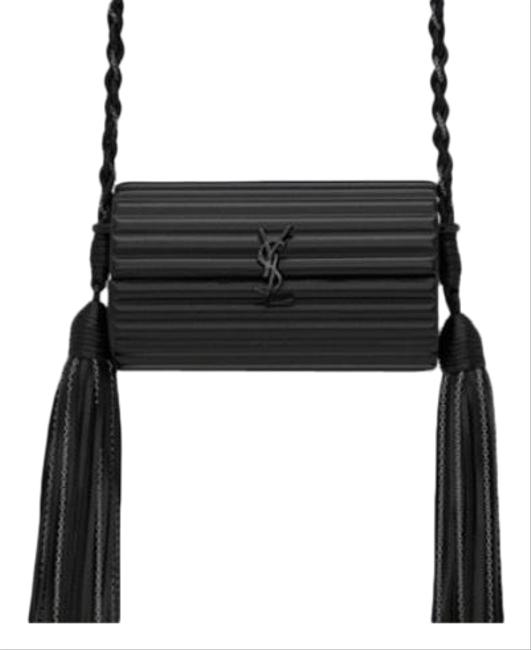Saint Laurent Opium Box Black Plexiglass Cross Body Bag Saint Laurent Opium Box Black Plexiglass Cross Body Bag Image 1