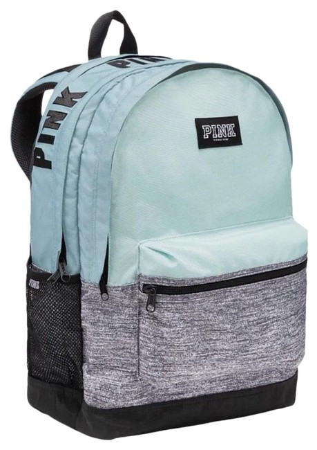 Item - New Pink Product Details The One and Only Campus Durable and Super Cute It's X Mint Polyester Backpack
