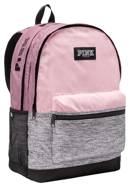 Item - Vs Pink Chalk Rose Polyester Backpack