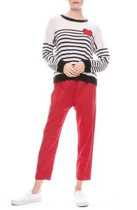 Cotélac Straight Pants Red