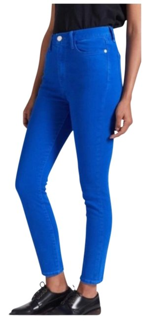 Item - Blue The High Waist Ultra New Skinny Jeans Size 26 (2, XS)