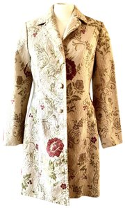 Apostrophe Car All Weather Brocade Trench Coat