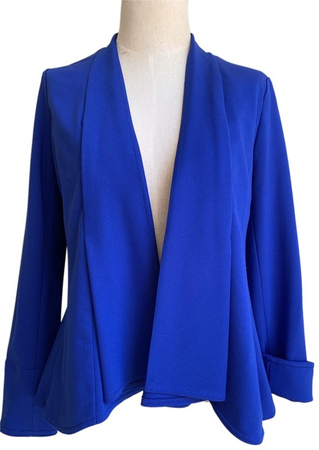 Item - Blue Fitted Jacket Size 2 (XS)