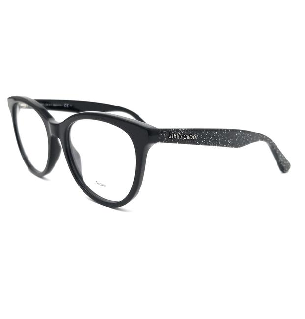 Jimmy Choo Black Eyeglasses Jc205 Ns8 Optical Frames Jimmy Choo Black Eyeglasses Jc205 Ns8 Optical Frames Image 1