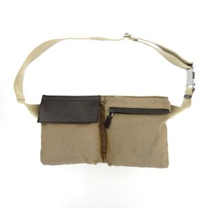 Gucci Canvas Leather Fanny Waist Travel Pack