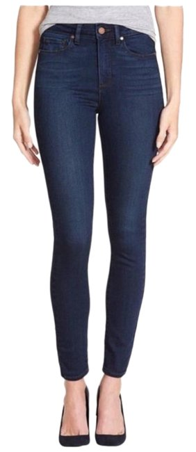 Item - Blue Dark Rinse Hoxton High Ankle New Skinny Jeans Size 26 (2, XS)