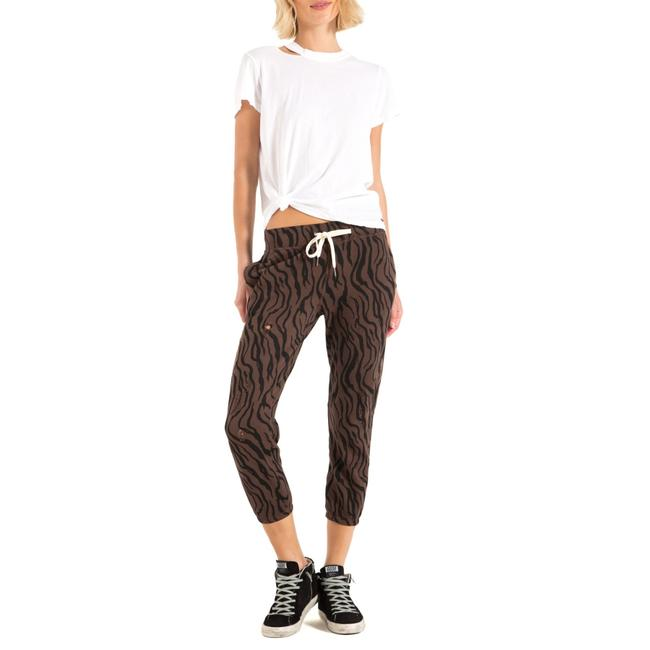 Item - Chocolate Zebra Derby Joggers Pants Size 2 (XS, 26)