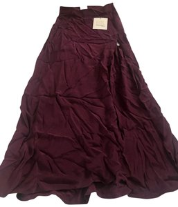 BE by brittaney elise Maxi Skirt Eggplant